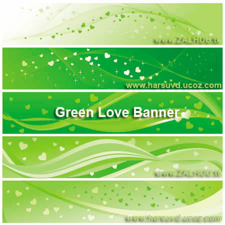 Green Banner Harsuvd.ucoz.com